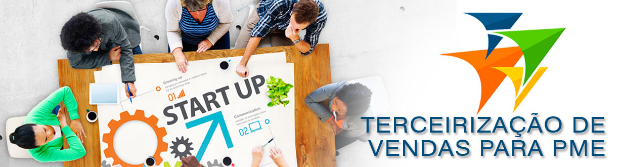Terceirização de Vendas para PME e Startups